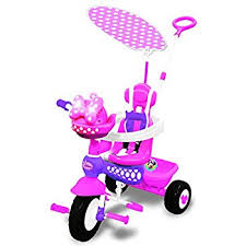 amazon disney big wheel junior racer minnie mouse ride