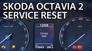 how to reset service reminder indicator in skoda octavia mk2