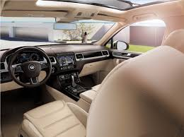 volkswagen touareg interior 2015 new vw touareg lease and finance offers in san juan capistrano ca