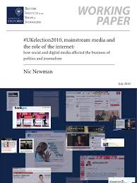 social media and the elections in the uk by by nic newman social