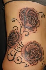 Big Flower Tattoos On - turtle tattoos on big flower tattoos on thigh