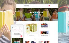 templates for bookshop book store opencart template