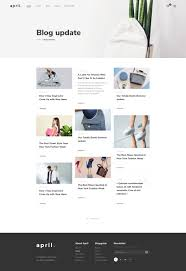 april ecommerce psd template by themesun themeforest