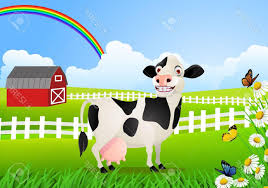 best free vector cow grazing at creek vector file free free