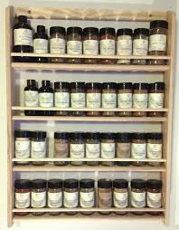 Rustic Spice Rack Kitchen Shelf Cabinet Made From Best Home Wooden Spice Rack Ebay