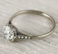 Antique Wedding Rings by Best 25 Vintage Engagement Rings Ideas On Pinterest Wedding