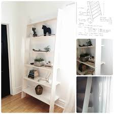 Ladder Shelf Make Your Own Ladder Shelf The Row House Nest