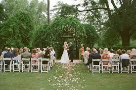 Ideas For A Garden Wedding Pretty Garden Wedding Once Wed