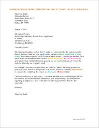 10 letters of recommendation for employment free word pdf