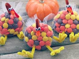 Kids Thanksgiving Crafts Pinterest Adorable Thanksgiving Crafts With Reese U0027s Pieces Sweet City