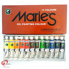 marie u0027s oil colour set 12 pieces art u0026 craft online store