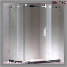 Bathroom Frameless Glass Shower Doors Bathroom Frameless Glass Shower Doors Get Curved Sliding Glass