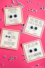 valintine cards googly handmade cards that s what che said