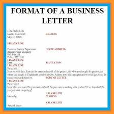 business letter format template word bio letter format