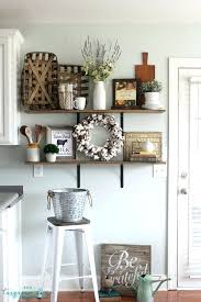 kitchen decorations ideas farmhouse kitchen decorating ideas wall decor intended for
