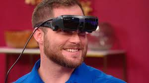 Sunglasses For Blind People Watch A Visually Impaired Man Sees His Girlfriend For The First