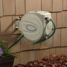 wall mounted garden hose reel home ideas for everyone