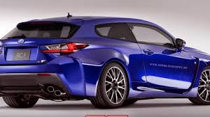 lexus rc convertible lexus rc f shooting brake is crazy yet beautiful idea