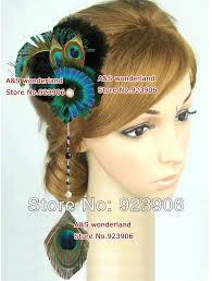 feather hair accessories stunning peacock turquoise feather hair clip hair hair
