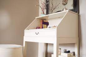Ikea Desk Small Diy Repurposed Ikea Desk Personally Andrea Diy Repurposed Ikea Desk