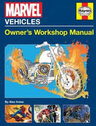Barnes And Noble Owner Marvel Vehicles Owner U0027s Workshop Manual By Alex Irvine Paperback