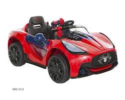 spider man 6v super car red dynacraft