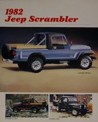 jeep scrambler 1982 trim level question