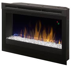 two sided electric fireplace binhminh decoration