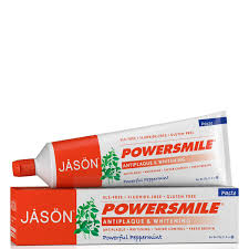 Pasta Gigi Antiplaque jason powersmile whitening toothpaste 170g free shipping