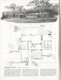 vintage house plans mid century homes 1960s homes 40s 50s 60s