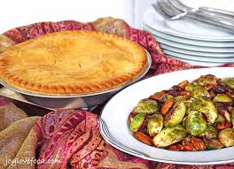 Pot Pie Variations by Pan Roasted Brussels Sprouts With Cranberries And Pecans Chicken