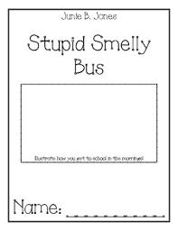 junie b jones stupid smelly comprehension packet by julie