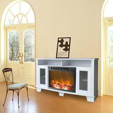 free standing fireplace large 1500w heat adjustable electric wall