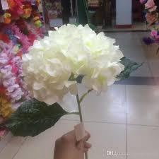 wholesale hydrangeas best quality artificial milk white hydrangea flower 80cm 31 5