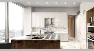 islands in the kitchen white marble apartment po ku custom luxury home builders