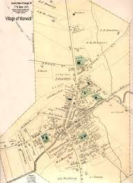 Map Of Orange County Warwick Valley History
