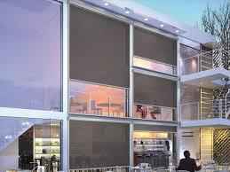 motorized outdoor window shades decor window ideas