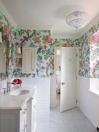 wallpaper designs for bathrooms 267 best wallpapered bathroom images on bathroom ideas