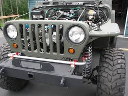 military jeep front my 1997 military tj build jeepforum com