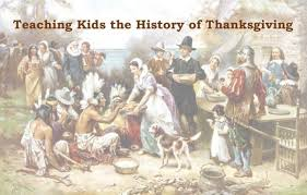 teaching the history of thanksgiving baby gizmo