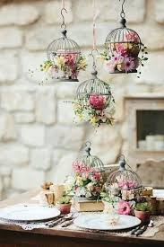 Bird Cage Decoration Put The Bird Cage Above You Table And Don U0027t Forget To Add Flowers