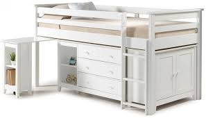 Midi Bunk Beds Buy Birlea Cotswold White Midi Sleeper Bed Cfs Uk