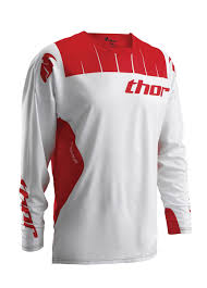 thor motocross jerseys 2016 thor core contro motocross jersey white red 1stmx co uk