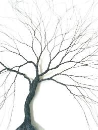 wall arts wire wall trees tree of sculpture wall decor
