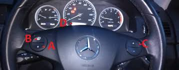 mercedes a class service how to service light reset mercedes w204 class c tutorial