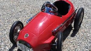retro ferrari 1950 u0027s american retro ferrari pedal car k31 monterey 2016