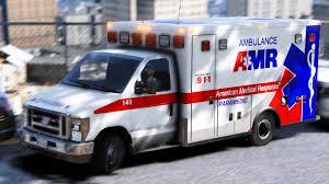 american medical response amr ambulance texture pack vehicle