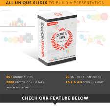 starter pack presentation powerpoint template 66462