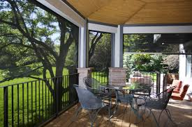 roller shades for screened porch