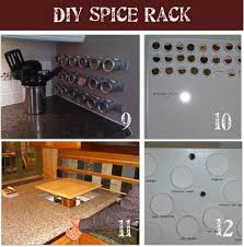 Diy Magnetic Spice Rack Wall Mounted Spice Rack Image Of Inspiration Wall Spice Rack